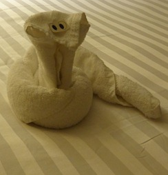 01 Towel Animal - Cobra