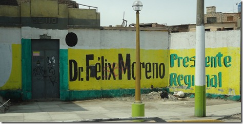 03 Presidential election sign on wall, Callao