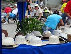 08 Panama Hat stand