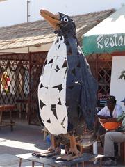 08 Penguin sculpture, Paracas Peru