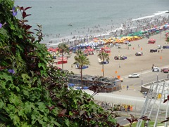 11 Beach at Miraflores from cliff