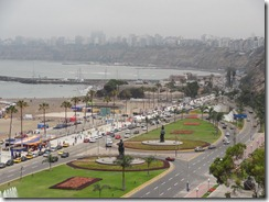11 Beach at Miraflores, Lima on horizon