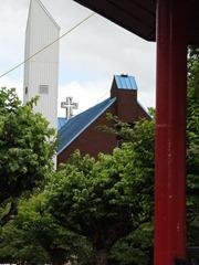 11 Puerto Aisen church from Plaza de Armas