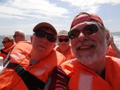 13 Rick & Mary in boat to Isla Ballestos