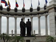 17 Statute of Bolivar & San Martin