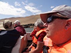 18a Mary in boat near candalabra