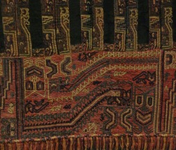 20 Moche textile, closeup