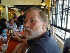 21 Rick in Peruvian restaurant in Lima