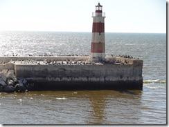 22 lighthouse in Antefagasto harbor entrance
