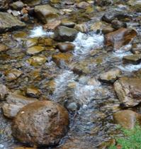 25 River stones near Cascada