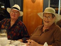 31 Barbara & Bing Bingenheim, Panama Hat Night