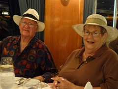 31 Barbara & Bing Bingenheim, Panama Hat Night
