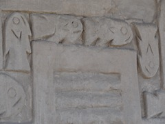 31 Wall with fish decoration