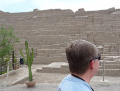 32 Mary at Huaca Pucllana