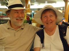 34 Rick & Mary, Panama Hat Night