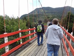 37 Mary crossing bridge at Pangal