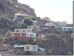 45 Houses on hilltop in Cocquimbo