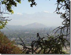 48 Santiago from hillside