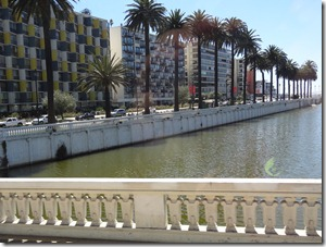 55 canal where ocean comes in at Vina Del Mar