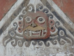 56 Face on wall at Temple of the Moon