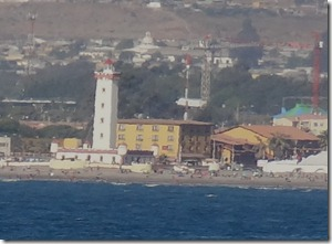 56 Lighthouse in La Serena from ship