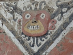 57 Face on wall at Temple of the Moon