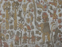 69 Closeup of wall at Temple of the Moon