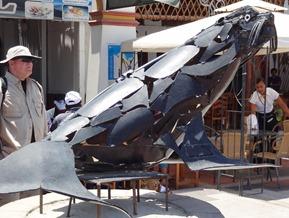 71 Sea Lion sculpture at Paracas Peru
