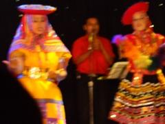 75 Folk dancers on Prinsendam in Lima
