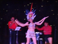 76 Folk dance show on Prinsendam