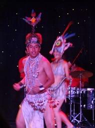 78 Peruvian folk dance show on Prinsendam