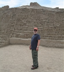 90 Rick at Huaca Pucllana
