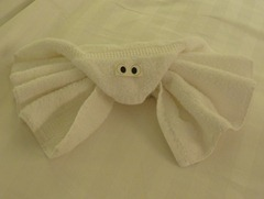 92 Octopus towel animal