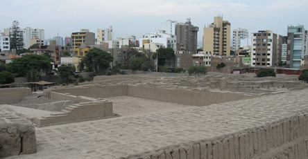 93 Miraflores skyline from Huaca Pucllana