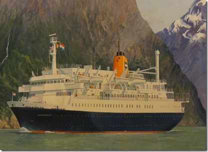 Painting of original Prinsendam