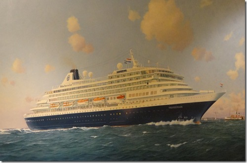 Painting of Prinsendam
