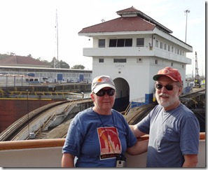 Rick & Mary at Gatun