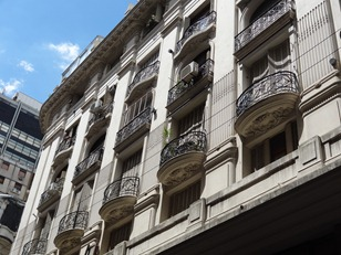 01 Building with balconies