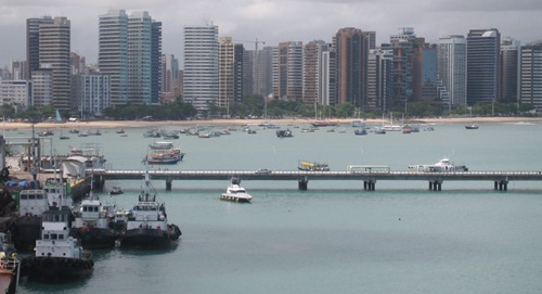 01 Fortaleza from ship