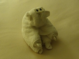 02 towel monkey