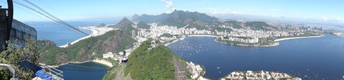 106 Panorama view from Sugarloaf with cablecar