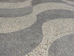 118 Mosaic sidewalk at Sugarloaf lower level
