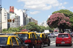 11 Avenida 9 de Julio, one of widest boulevards in the world