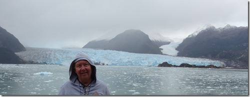 11 Mary at Amalia Glacier