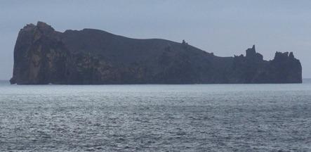 136 Whale-like island off Deception Island