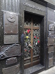 13 Evita tomb
