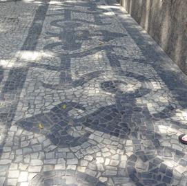 175 Mosaic sidewalk