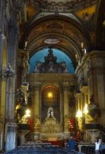 179 Inside of Igreja de Nossa Senhara da Candelaria (church built by shipwreck survivor)