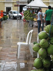 17 Coconut vendors in Praca Brandao