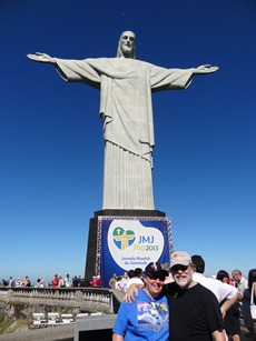 17 Rick & Mary at Cristo Redentor
